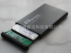 2.5寸SATA接口apexel移動硬盤盒