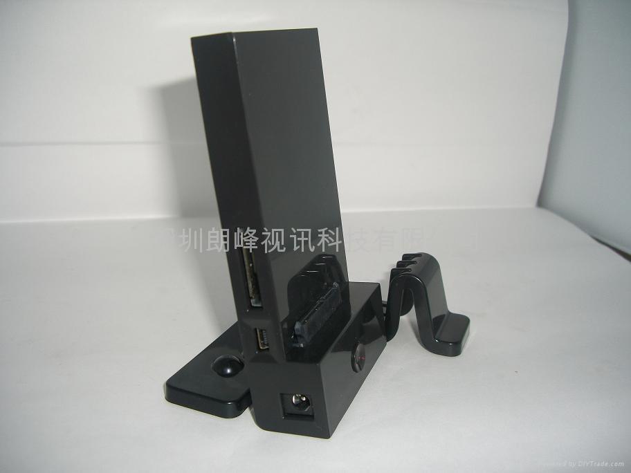 2.5/3.5寸硬盤通用USB+eSATA接口硬盤底座 1