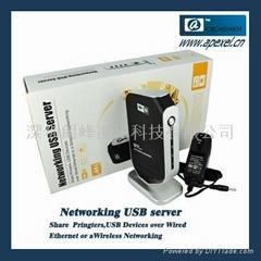 4口網絡USB服務器