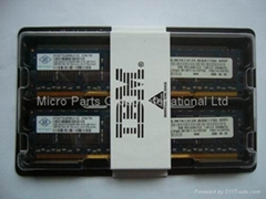 IBM 4gb ddr2 ecc pc2-5300 cl5 667mhz memory for server
