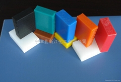 Polyethylene plate