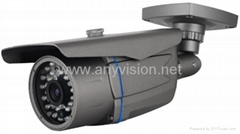 Weatherproof IR Bullet Camera-With 36PCS IR LEDs Fixed LensEC-667WE