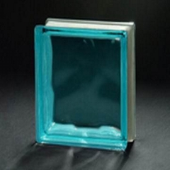 coloured glass block