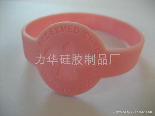 異型硅膠手環 2
