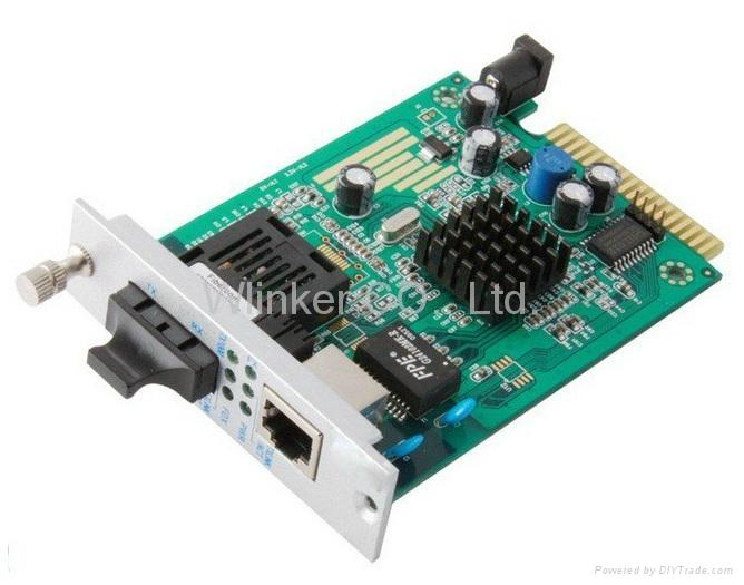 10/100/1000M Fiber Media Converter 1
