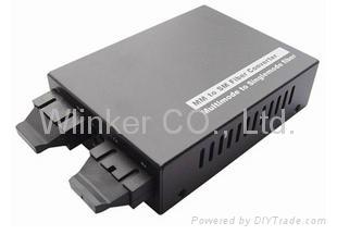 10/100/1000M Multi-port Media converter 1