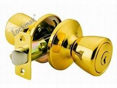 tabular knob lock
