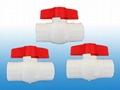 供應PVC球閥(圓形、八角球閥) 1