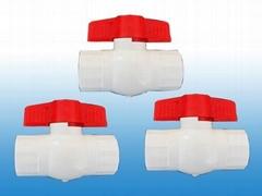 供应PVC球阀(圆形、八角球阀)