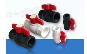 供應PVC球閥(圓形、八角球閥) 2