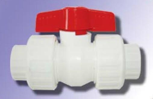 供應各種塑芯雙活接PPR球閥 2