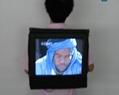 七彩多媒體背包式廣告機