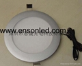 Round LED panel light-LED downlight