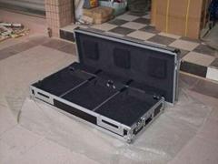 flight case pioneer 2cdj1000 1 mixer djm800