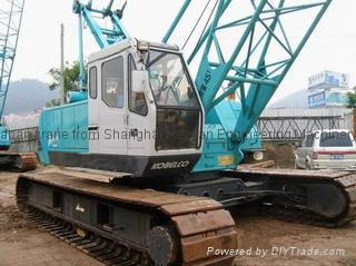 KOBELCO 7045 CRAWLER CRANE FOR SALE,original japan crane good