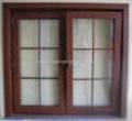 Assembled PVC window and door