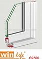 Sliding PVC Window Profile