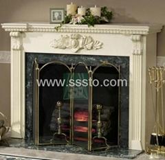 Granite /  Marble Fireplace