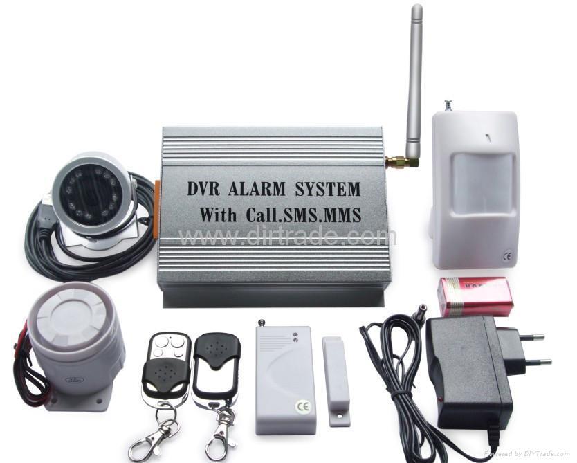 gsm mms camera alarm system sending photo yl 007m8. Black Bedroom Furniture Sets. Home Design Ideas