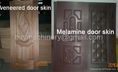 Door Skin,Melamine&Veneer door skin