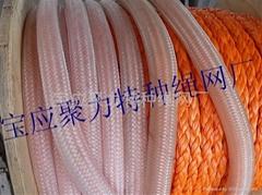供應高分子聚乙烯8股繩纜