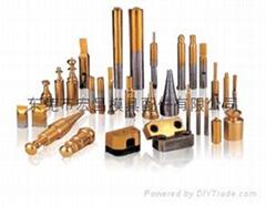 鈹銅引導針,浮升梢,及冷沖模外導柱帶鋼珠組件
