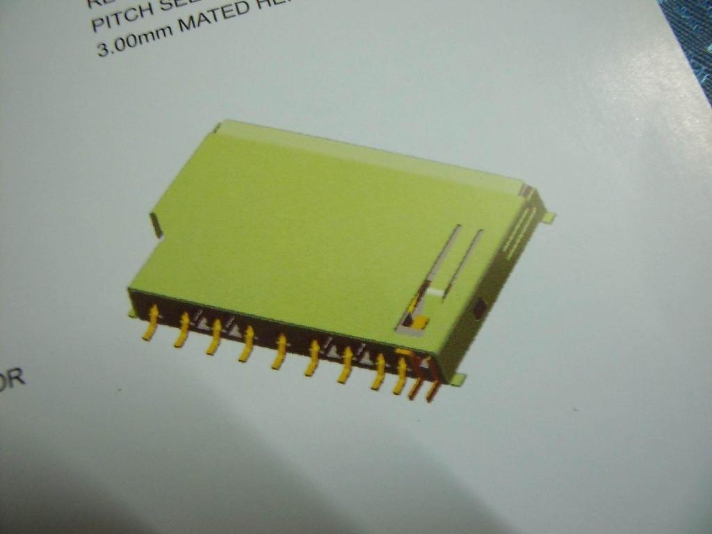TF SD MS CF卡座 1