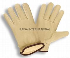 Goat skin Driver Glove