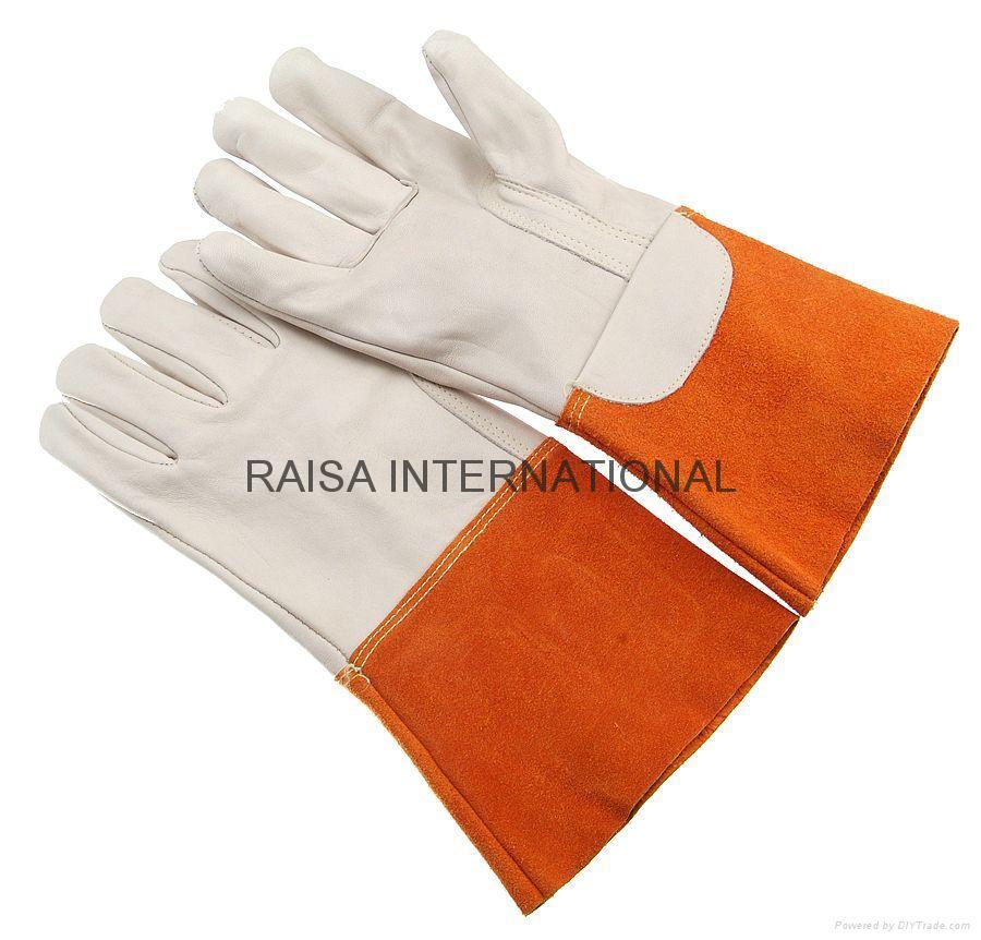 Tig welding glove 2