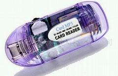 Transparent Card Reader mp3