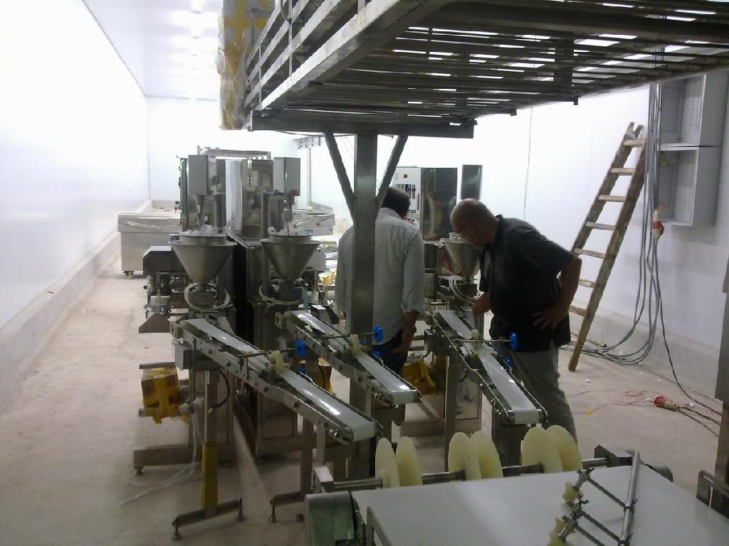 Imitation crab meat production line  1