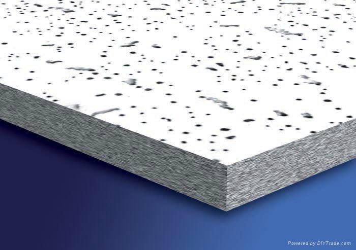 mineral fiber acoustic ceiling tiles (China Manufacturer ...