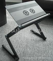 laptop desk with fan
