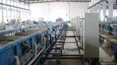 膠管鋼絲電鍍黃銅生產線 鍍鋅鐵絲生產線