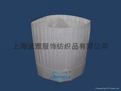 30CM環保無紡布廚師帽(B款)