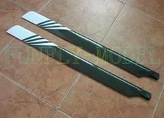 700mm高品質玻纖槳(碳纖加強型)