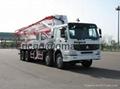Truck-mounted concrete pump  37 M