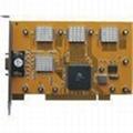 8路6805芯片采集卡  1