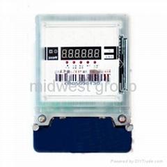 1-phase electromic prepaid watt-hour meter