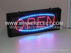 LED Open panel