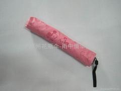铅笔广告伞