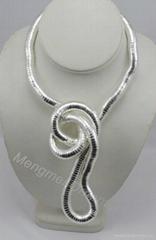 twist necklace jewelry