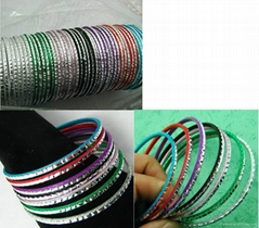 thin bangles for parties festivals