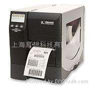 斑馬ZM400條碼打印機 弔牌打印機 1