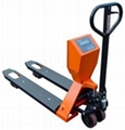 electronic pallet jack scale, movable