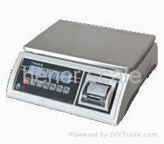 electronic scale with biult-in mini printer