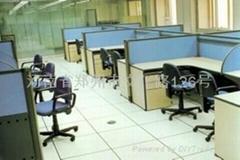 银川铝合金防静电地板