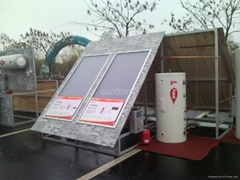 split pressurized solar water heaters