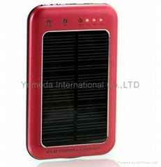 Portable solar charger for iphone
