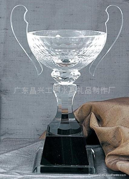 水晶獎杯 3